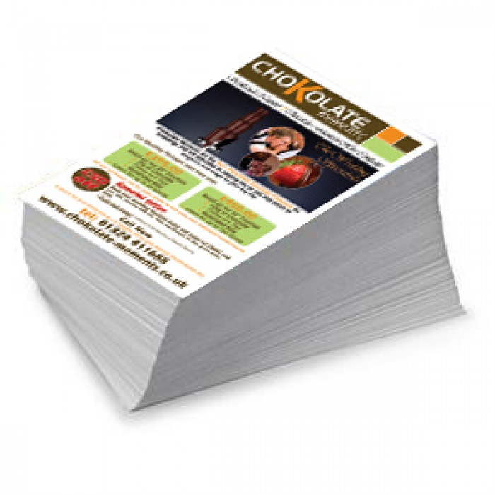 5000 x a5 flyers single sided full colour 148 x 210mm